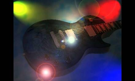 Rock Blues guitar backing track in G minor