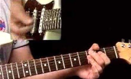 Rhythm Guitar Lessons – Blues Pattern #1 – Rhythmology