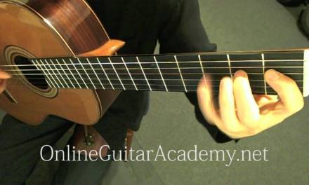 N. Rimsky-Korsakov – Flight of the Bumblebee, arranged for Classical Guitar