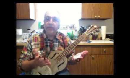 Bottleneck Slide Blues Guitar – Student Funded Lessons – 1A