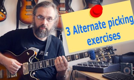 3 Great Alternate picking exercises to help you play fast – Guitar Lesson