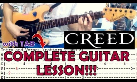 One Last Breath – Creed(Complete Guitar Lesson/Cover)with Chords and Tab
