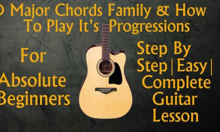 Basic Guitar Lesson|know chords of any songs|D Major Chords Family & It's Progressions|GL#9