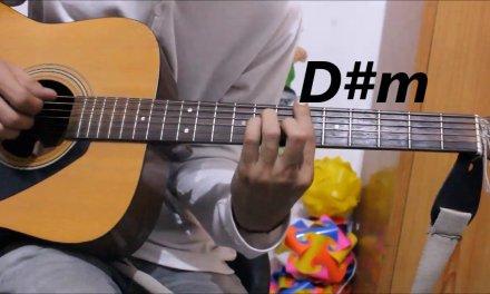 1 Romantic Hindi/Punjabi mix Song – Guitar cover lesson chords hindi