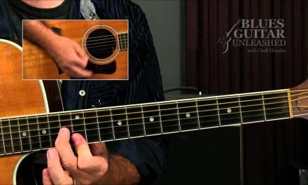 Acoustic Blues Lesson: Elmore James Style Riff