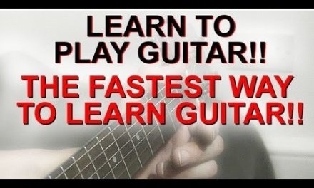 Learn To Play Guitar The Fastest Way – The Busker Technique 1