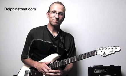 Blues Guitar Rhythm Lesson Chucky