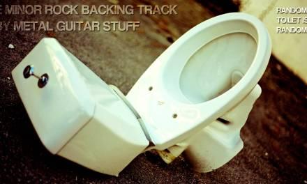 E Minor / G Major Melodic Rock Metal Guitar Backing Track