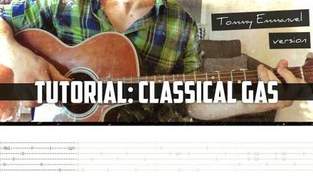 Tutorial: Classical Gas (Tommy Emmanuel arr.)