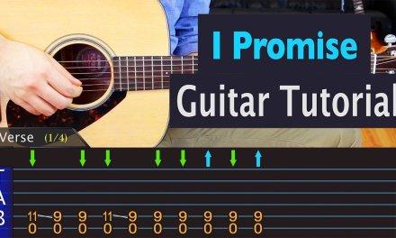 Radiohead – I Promise – Guitar Lesson