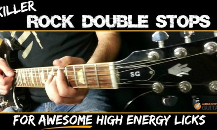 Killer Rock Guitar Licks -Double Stops Guitar Lesson