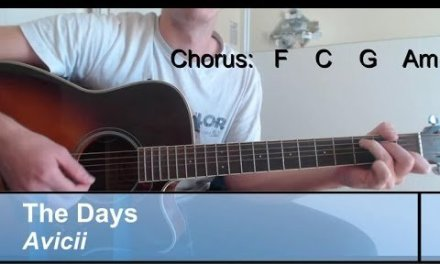 "GUITAR-Lesson: ""The Days"" , Avicii / Chords"