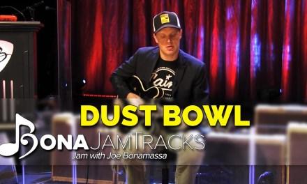 "Bona Jam Tracks – ""Dust Bowl"" Official Joe Bonamassa Guitar Backing Track in A Minor"