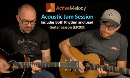 Acoustic Jam Session With a Buddy – How To Jam on Guitar – Blues Guitar Lesson – EP209