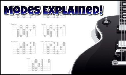 The Modes Explained 1 – What are the modes? – Guitar modes lesson