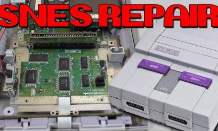 Super Nintendo Repair Log