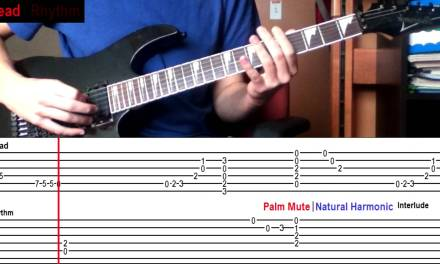 How To Play 'When I'm Gone' by 3 Doors Down (With On-Screen Tabs!) – Guitar Tutorial