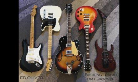 Backing Track Guitar (GROOVE Bm) – Ed Oliver