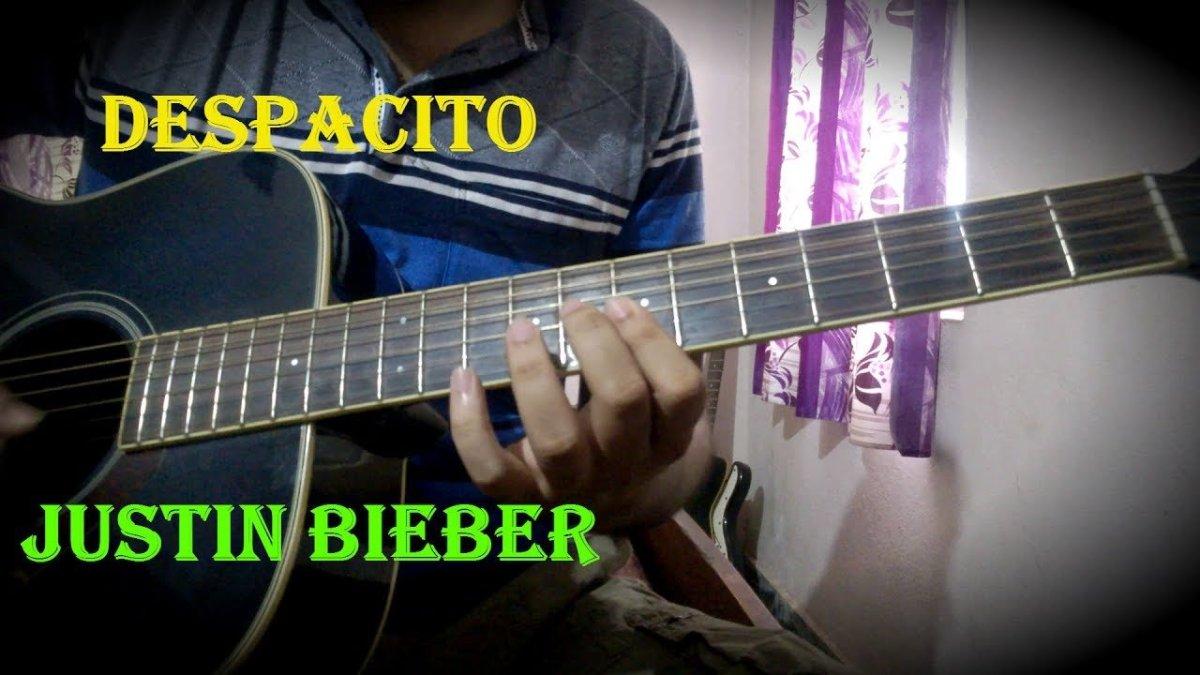 Despacito Justin Beiber Guitar Chords Intro Lesson In Hindi