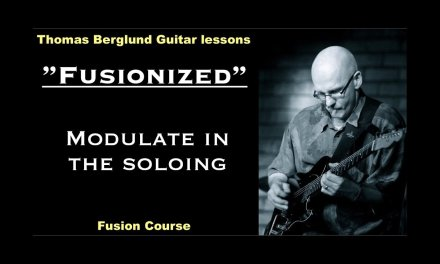 """Fusionized """"Soloing between two major keys"""" – Fusion Guitar lesson"""