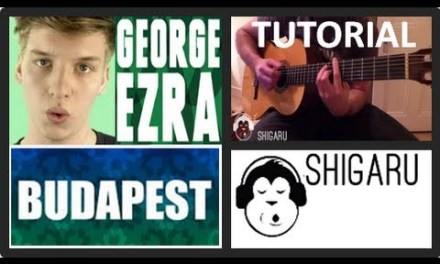 "How to Play ""Budapest"" by George Ezra (Guitar Tutorial/Lesson) – Only 3 Chords – No Capo :-))"