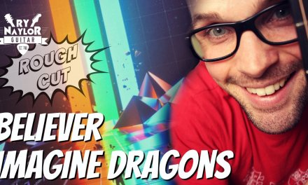 Believer Imagine Dragons Guitar Lesson – Easy, Beginner Chords and Picking Part