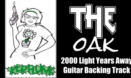Green day – 2000 Light Years Away (Guitar Backing track)