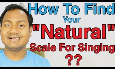 """How To Find Your """"Natural"""" Scale For Singing ? Singing Lesson By Mayoor"""