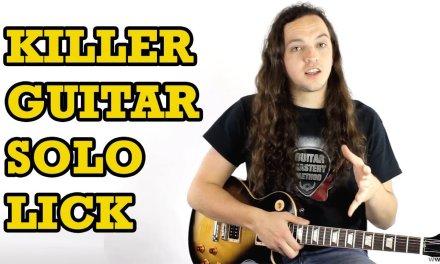 Killer Guitar Solo Lick + TAB