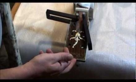 Callie's guitar repair. pt. 2