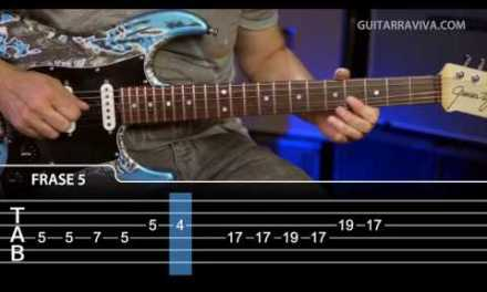 Happy Birthday Rock Lesson on Electric guitar   Easy lesson with tabs and play along