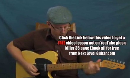 Electric Blues lead guitar soloing lesson inspired by Buddy Guy First Time I Met The Blues style