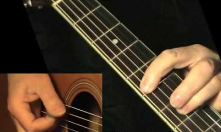Blues solo 6 – flatpicking + TAB! Acoustic guitar lesson, learn to play
