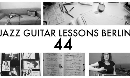 JAZZ GUITAR LESSONS BERLIN NO 44: the legato exercise