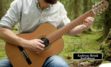 J.S. Bach – Adagio (on classical guitar)