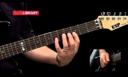 Smoke on the water the solo Lesson