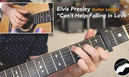"Guitar Lesson ""Can't Help Falling in Love"" Elvis Presley, Haley Reinhardt"