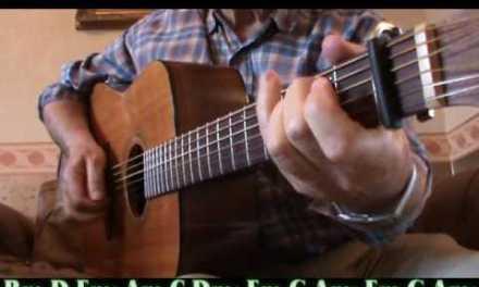 HELP ME (Sonny Boy Williamson) Guitar Lesson/Chords
