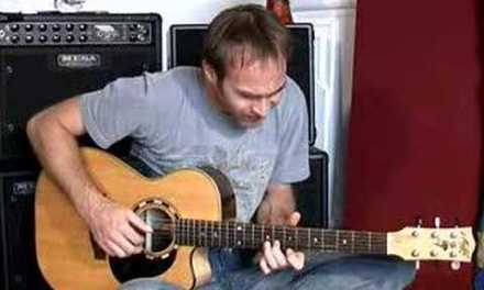Acoustic Solo Blues Guitar disc 2 DVD DEMO (Guitar Lesson PR-004) How to play