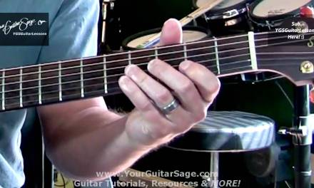YGSGL – 5th String Root 2 Octave Major Scale – Beginner Acoustic Guitar Lesson
