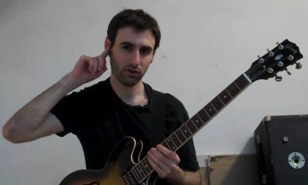 Jazz Guitar Lesson: Chops Excercise