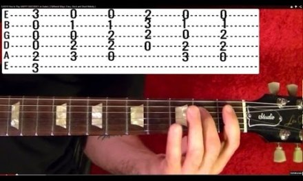 Hurt by JOHNNY CASH – Guitar Lesson
