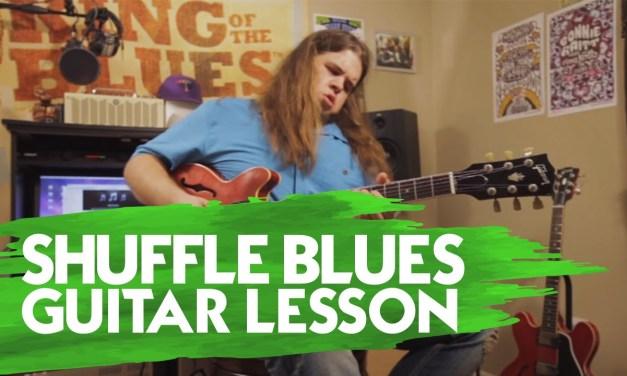 Shuffle Blues Guitar Lesson