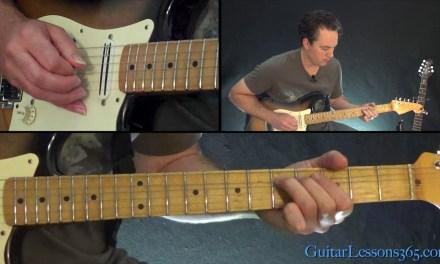 Pink Floyd – Shine On You Crazy Diamond Guitar Lesson (Part 2)