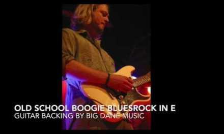 Guitar Backing tracks – Old school bluesrock in E