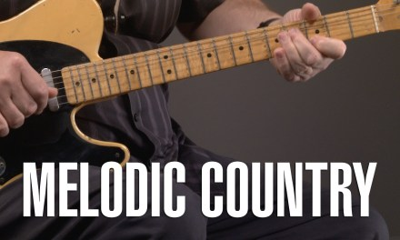 Melodic Country Guitar Lesson