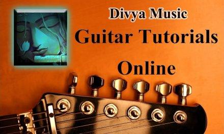 Instrument Tutorials | Learn Guitar Online | Divya Music