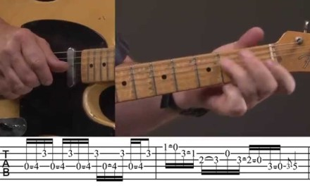 Cascading Country Guitar Lick