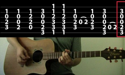 Ordinary World Guitar Tutorial – Green Day Guitar Lesson (Chords on Screen)