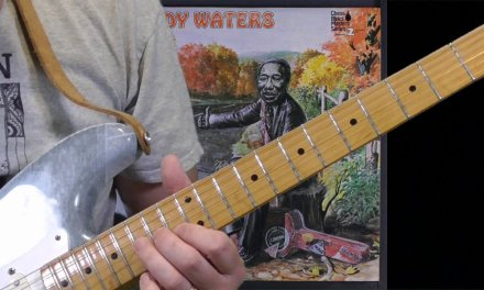 Muddy Waters Guitar Lesson – Luther Tucker Lick in A